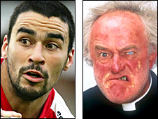 Adey Gardner and Father Jack