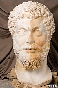 Marble head of Marcus Aurelius (SARP)