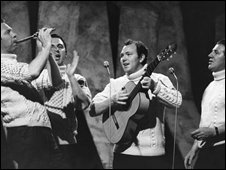 The Clancy Brothers and Tommy Makem in 1965
