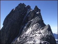 Carstensz Pyramid. Pic Bob Kerr