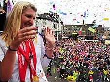 Rebecca Adlington in Mansfield