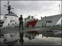 سفينة المساعدات الأمريكية تصل إلى ميناء باتومي