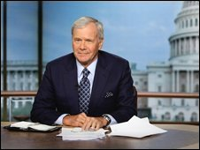 US Anchor Tom Brockaw