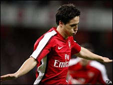 Samir Nasri celebrates being the anti-Hleb.
