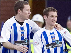 Frazer Wright and Craig Bryson were the scorers for Kilmarnock
