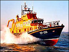 Severn class all-weather lifeboat: Pic RNLI