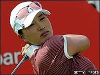 La golfista surcoreana Se Ri Pak
