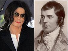 Michael Jackson and Rabbie Burns