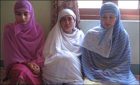 Imran Ahmed Wani's family