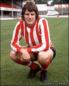 Mick Channon in his Southampton days