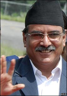 Nepalese Prime Minister Prachanda sets off for his first international trip after taking office