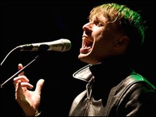 Alex Kapranos from Franz Ferdinand