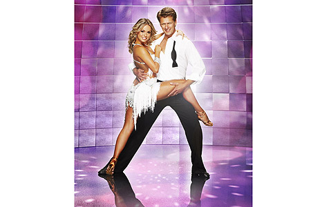Ola Jordan and Andrew Castle