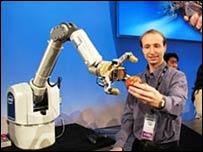 Brazo robótico de Intel