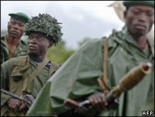 File photo of Congolese soldiers