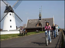Lytham Green - pic courtesy of Lancashire County Council