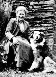 Childrens author and illustrator Beatrix Potter