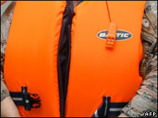 Life vest. File pic