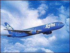 Zoom aircraft