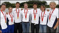 GB men's four and women's quad