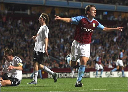 Craig Gardner scores for Villa