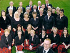 Inverness Gaelic Choir. Picture courtesy of Inverness Gaelic Choir