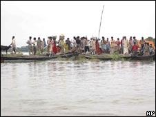 Flood-affected Madhepura district in Bihar