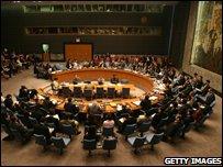 UN Security Council July 2008