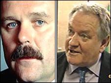 Elfyn Llwyd and Dafydd Iwan