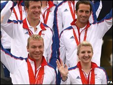 Team GB gold medal winners
