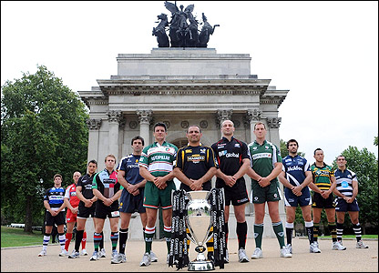 The Premiership's 12 captains are ready for action