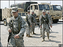 Miembros de la Guardia Nacional de Louisiana