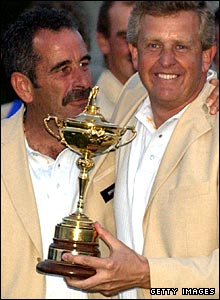 Sam Torrance and Colin Montgomerie