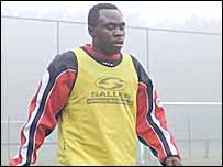 Nigerian striker Peter Utaka