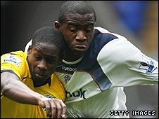 Leon Barnett and Fabrice Muamba