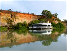 Houseboat on the Murary Darling