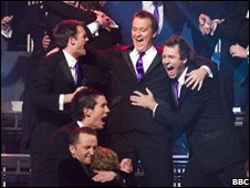 Only Men Aloud! was formed eight years ago in Cardiff