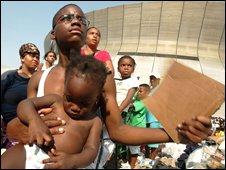 Hurricane Katrina evacuees