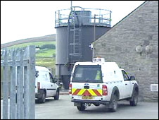 Mynydd Llandegai water treatment works