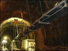 Tunnel at Glendoe