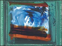 Ekow by Howard Hodgkin. Courtesy Gagosian Gallery
