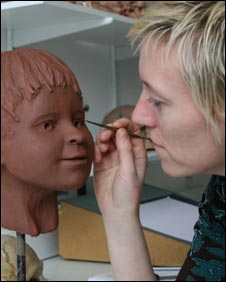 Facial reconstruction, Dr Caroline Wilkinson