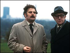 With Alec Guinness in Tinker Tailor Soldier Spy