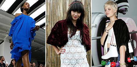 Jourdan Dunn, Daisy Lowe and Pixie Geldof