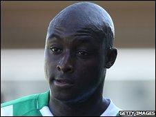 Cheltenham's new signing Lloyd Owusu