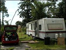 Lance Myer's trailer