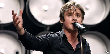 Tom Chaplin from Keane