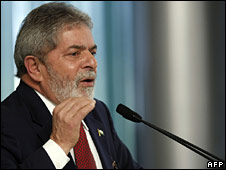 President Lula in a file photo from 28 August