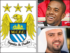 Manchester City have signed Robinho following the involvement of Arab buyers