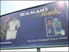 Seaman's Schnapps advert